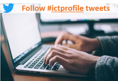 Follow #ictprofile tweets