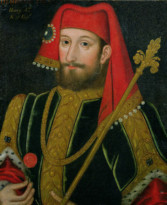 Reproduction of a portrait of King Henry IV of England