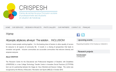 CRISPESH now has a presence on the Profweb Personal Space