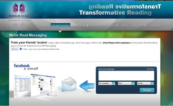 The Messaging Page of the Website