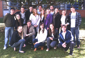 Last year's students from UNISINOS
