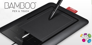 Bamboo pen & touch Wacom tablet