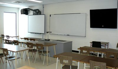 Interactive whiteboard equipped classrooms