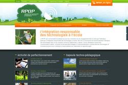 Site web Apop