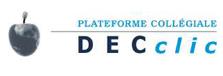 Logo DECclic, Corporation Plateforme collégiale