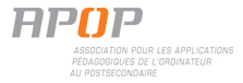 Logo de l'APOP