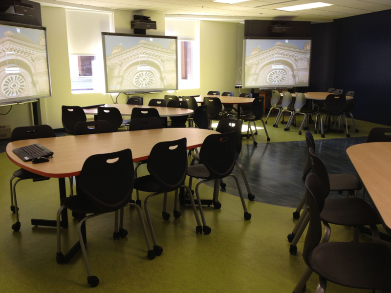 The New Active Learning Classroom
