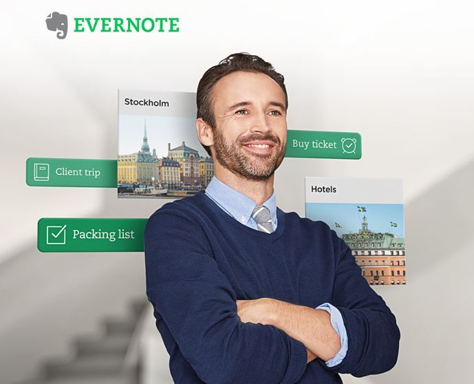 For everything you'll do, Evernote is the workspace to get it done