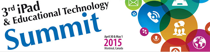 The third iPad Summit was held on April 30 and May first 2015