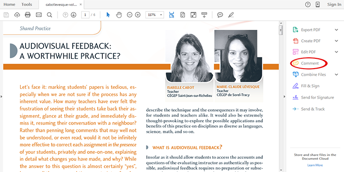 Digital Resources to Provide Feedback to your Students