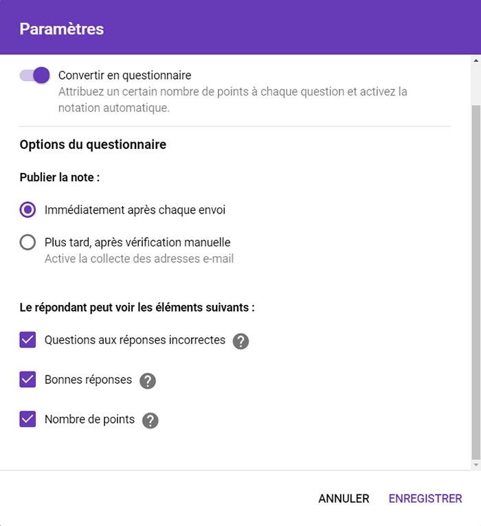 Une Nouvelle Fonctionnalite Dans Google Formulaire Recits Publications Profweb